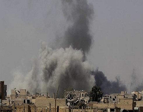 غارات تستهدف ميليشيات إيران على حدود سوريا والعراق