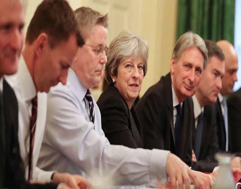 ماي تعقد اجتماعا لحكومتها الخميس لبحث التدخل المحتمل في سوريا