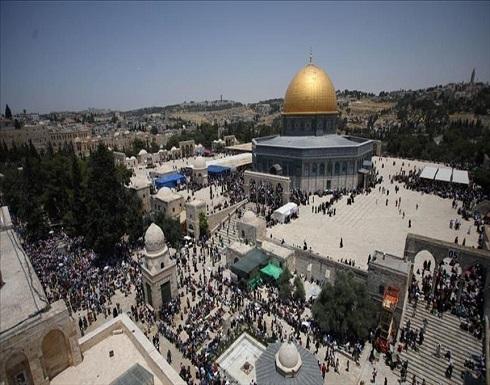 الشرطة الإسرائيلية تعتقل 5 شبان في ساحات المسجد الأقصى