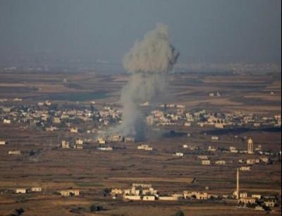 قصف اسرائيلي على سوريا - أرشيفية