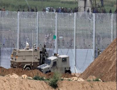الجيش الإسرائيلي عند قطاع غزة - أرشيف