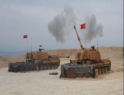 وحدات من القوات التركية في سوريا