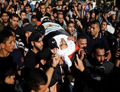 """تشييع جثمان  قيادي سرايا القدس """"أبو العطا"""""""