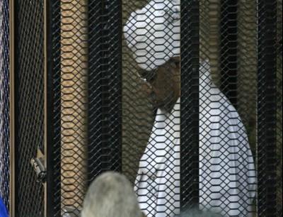 لقطة من المحاكمة