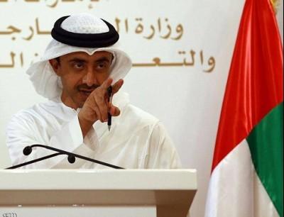 وزير الخارجية والتعاون الدولي الإماراتي الشيخ عبدالله بن زايد آل نهيان