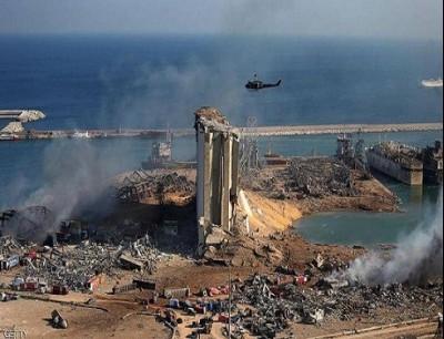 مرفأ بيروت تحول إلى ركام بعد الانفجار الضخم