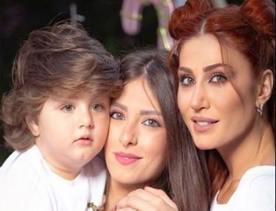 في عيد ميلاده هبة نور مثيرة تعلن عن استيائها من لقب يطلقه عليها ابن شقيقها صور جي بي سي نيوز