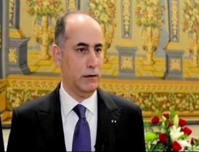السفير الاردني في تل ابيب غسان المجالي