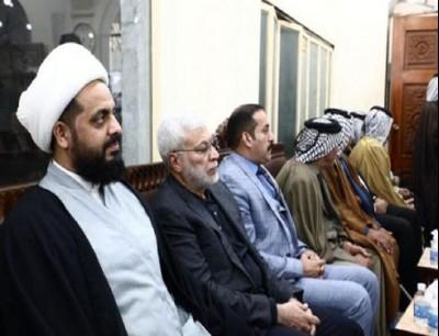 """زعيم حركة """"عصائب أهل الحق"""" العراقية قيس الخزعلي"""