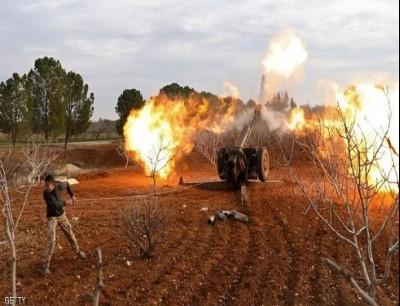 قتل المدنيون السوريون جراء قصف صاروخي لفصائل مسلحة- أرشيف