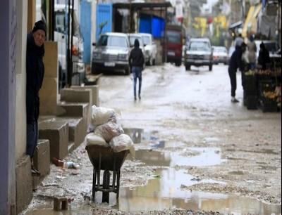 مخيم عين الحلوة في لبنان