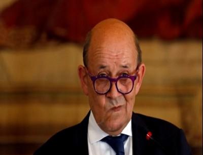 وزير الخارجية الفرنسي جان-ايف لودريان
