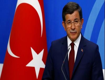 وزير الخارجية التركي السابق أحمد داوود أوغلو