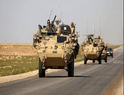 آليات عسكرية أميركية في سوريا (فرانس برس)