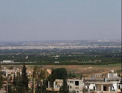 من الحدود السورية اللبنانية