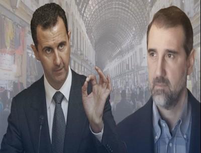 رامي مخلوف و بشار الاسد