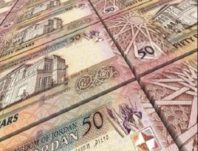 مبالغ مالية اردنية
