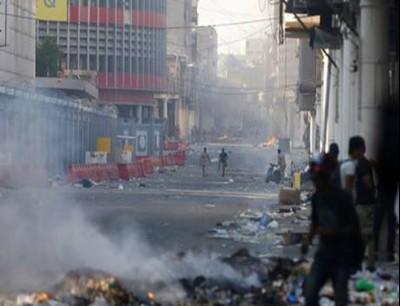 من مظاهرات بغداد - أرشيف