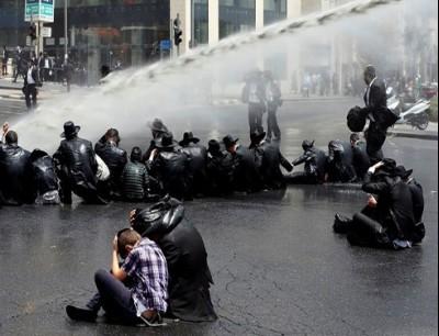 اشتباكات بين الشرطة الإسرائيلية ومتظاهرين