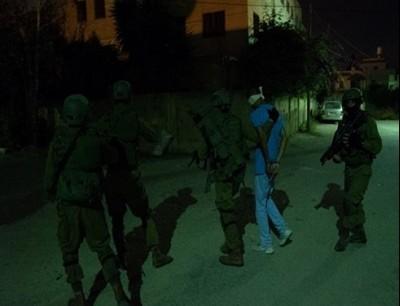 اعتقال فلسطيني - ارشيفية