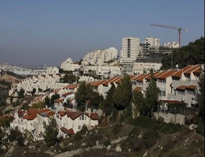 مستوطنات إسرائيلية في الضفة الغربية (صورة من الأرشيف)