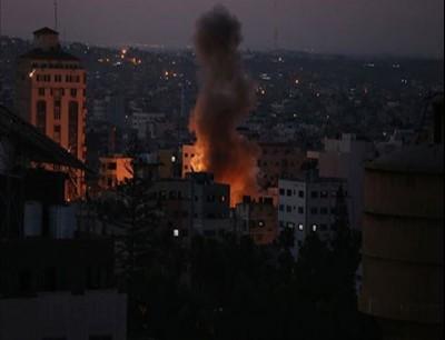غارات العدوان الاسرائيلي