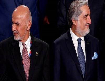 الرئيس الأفغاني أشرف غني ورئيس الوزراء السابق عبد الله عبد الله - أرشيف