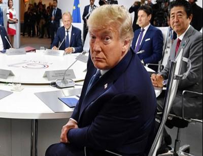 الرئيس الأمريكي دونالد ترامب في قمة G7
