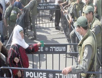 حواجز الاحتلال في فلسطين