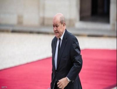 وزير الخارجية الفرنسي