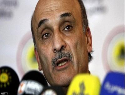 سمير جعجع رئيس حزب القوات اللبنانية - أرشيف