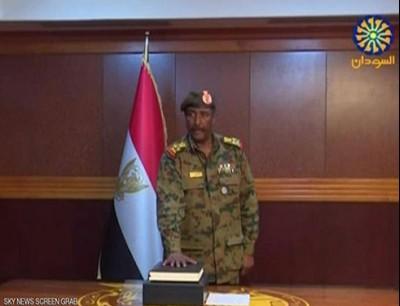 0dda0dd0a بالفيديو : البرهان يعلن تشكيلة المجلس العسكري الانتقالي في السودان