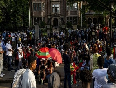 من احتجاجات إثيوبيا