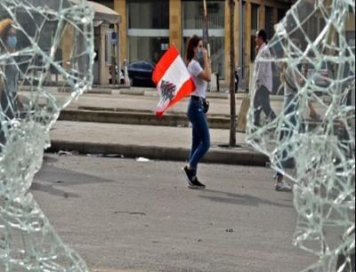 من وسط بيروت (18 أكتوبر - فرانس برس)