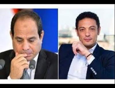 عبد الفتاح السيسي والمقاول