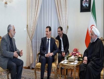 الأسد وسليماني (أرشيفية)