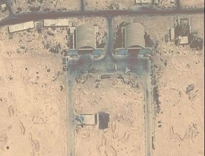 قصف إسرائيلي على مطار التيفور