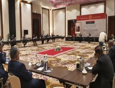 من الحوار الليبي في طنجة