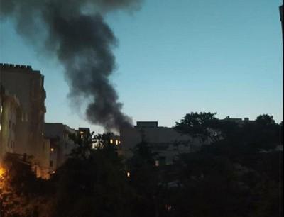 انفجار بمركز طبي شمال طهران