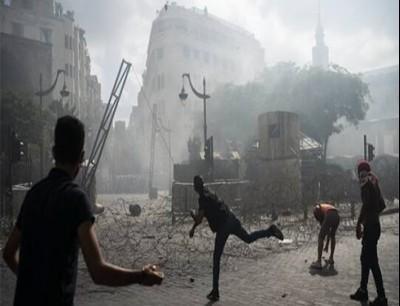 احتجاجات وأعمال شغب في بيروت
