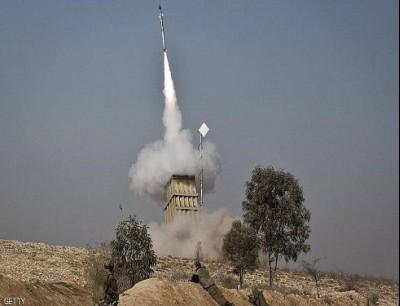 القبة الحديدية اعترضت 4 صواريخ فوق الجولان.