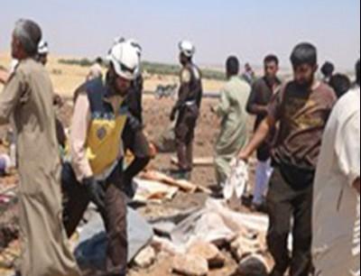 مخيم للنازحين السوريين