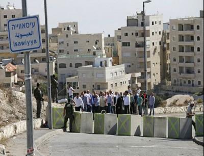 تشهد بلدة العيسوية منذ بداية حزيران/ يونيو الماضي حملة متواصلة من شرطة الاحتلال