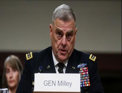 المرشح لمنصب رئيس هيئة الأركان المشتركة الأمريكية، الجنرال مارك ميلي