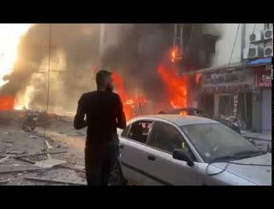 انفجارات تهز القامشلي