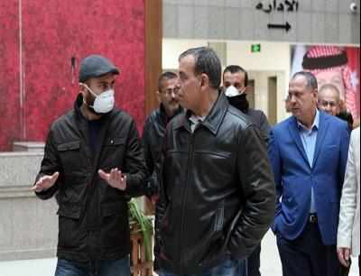 سعد جابر و الشاب المصاب بكورونا