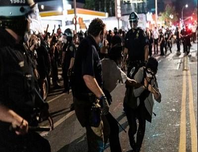 من احتجاجات امريكا