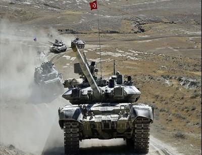 """مناورات """"النسر التركي الأذربيجاني"""