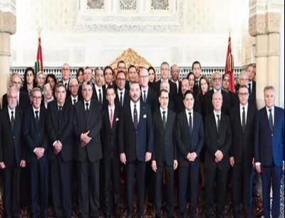 الحكومة  المغرب الجديدة تؤدي اليمين