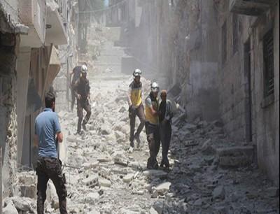قصف ادلب